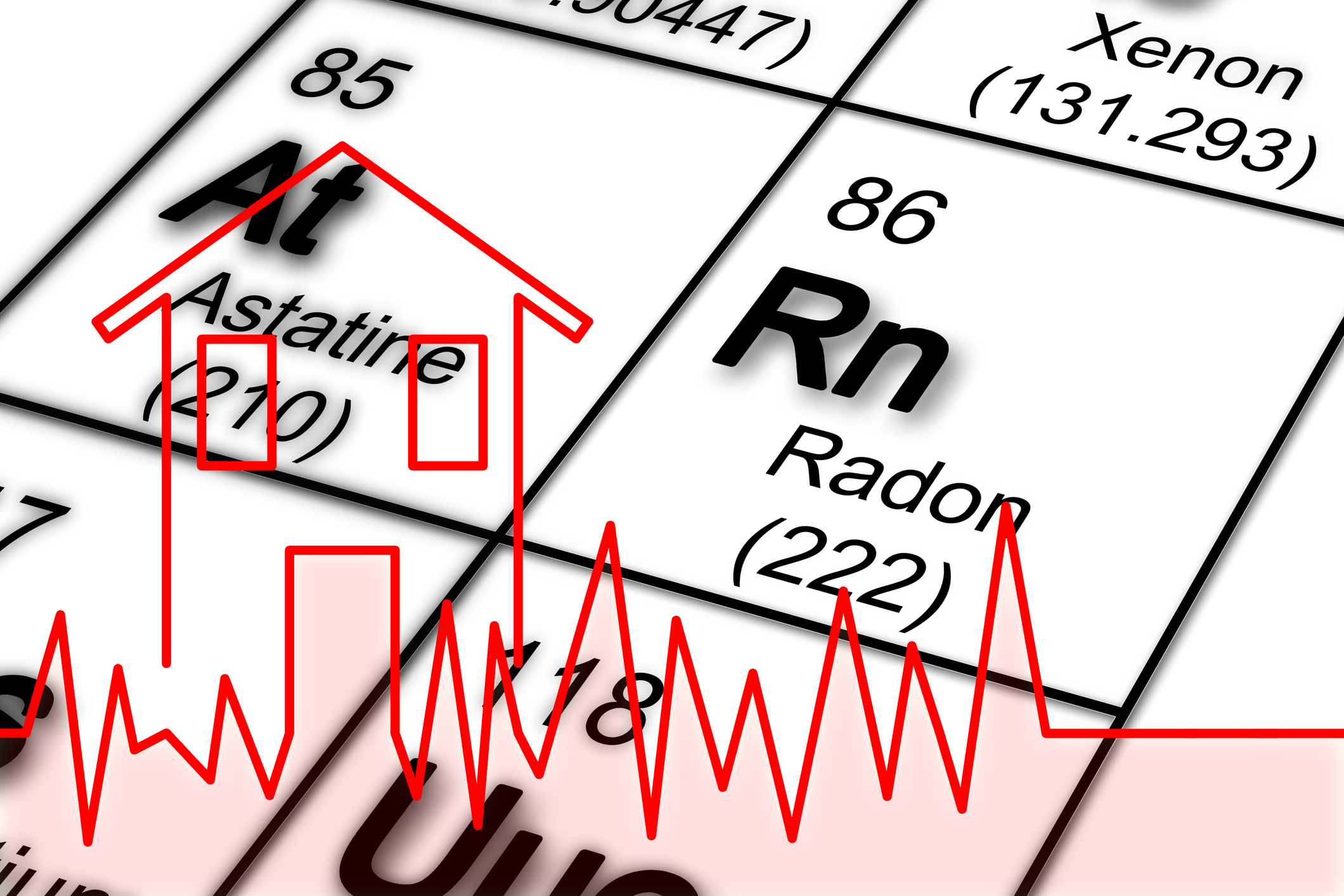 periodical chart showing radon RDS Environmental Colorado