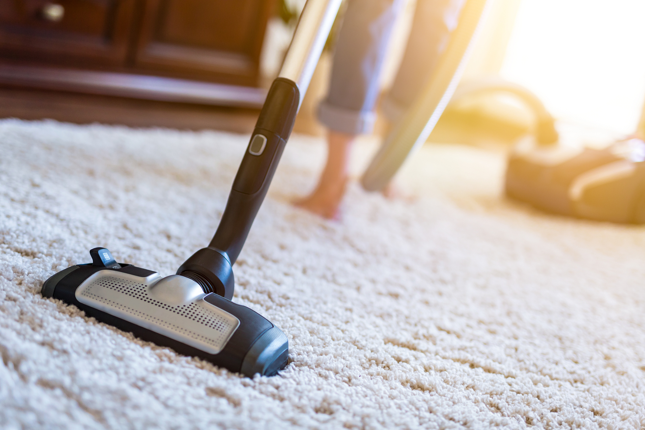 vacuuming carpet indoor air quality testing RDS Environmental